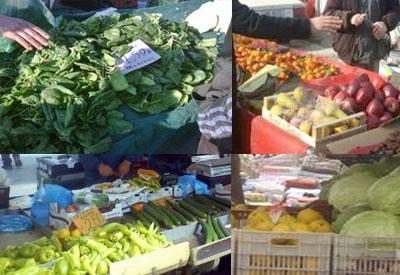 λαϊκή αγορά παζάρι