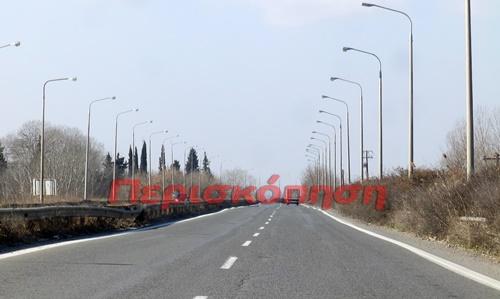 Εργασίες στην Π.Ε.Ο. Θεσσαλονίκης-Έδεσσας