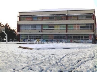 σχολείο - χιόνια