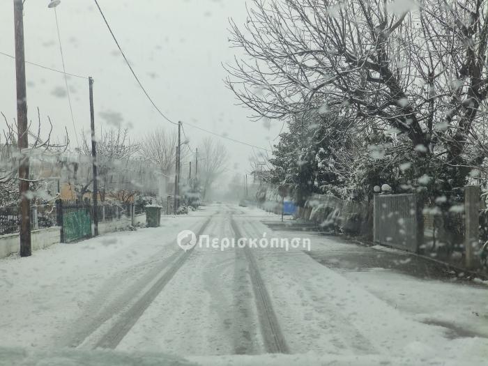 Χιονόπτωση 03.01.2019