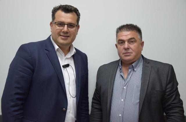 Την υποψηφιότητα του Θωμά Χατζόπουλου ανακοίνωσε ο συνδυασμός του Κ. Ναλμπάντη