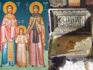 Στην Πατρίδα στις 21 Ιουλίου η υποδοχή των ιερών λειψάνων των Αγ. Ραφαήλ, Νικολάου και Ειρήνης