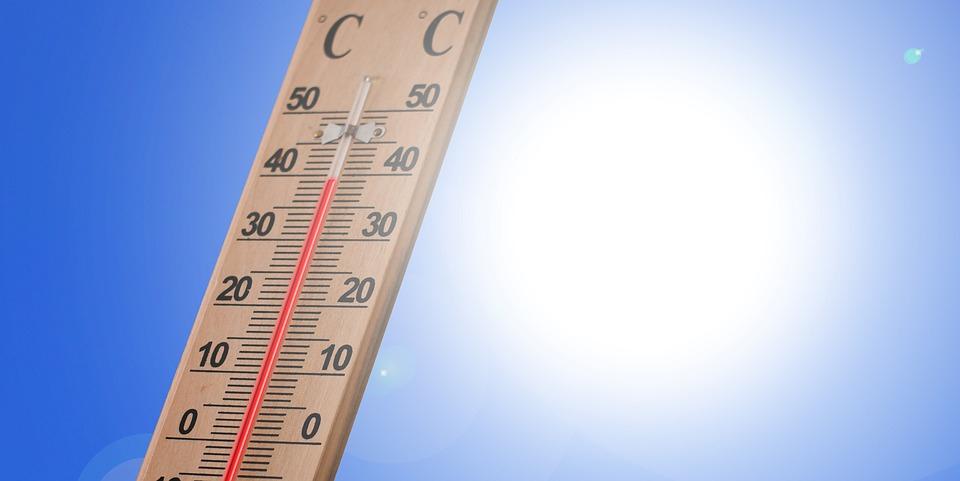 θερμόμετρο ζέστη