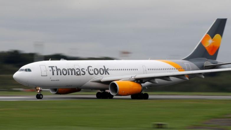 thomas cook airplane