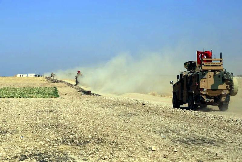 εισβολή Τουρκίας στη Συρία