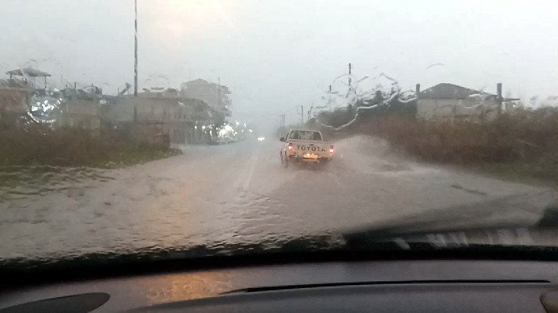 Αλεξάνδρεια βροχόπτωση 20ΝΟΕ2019