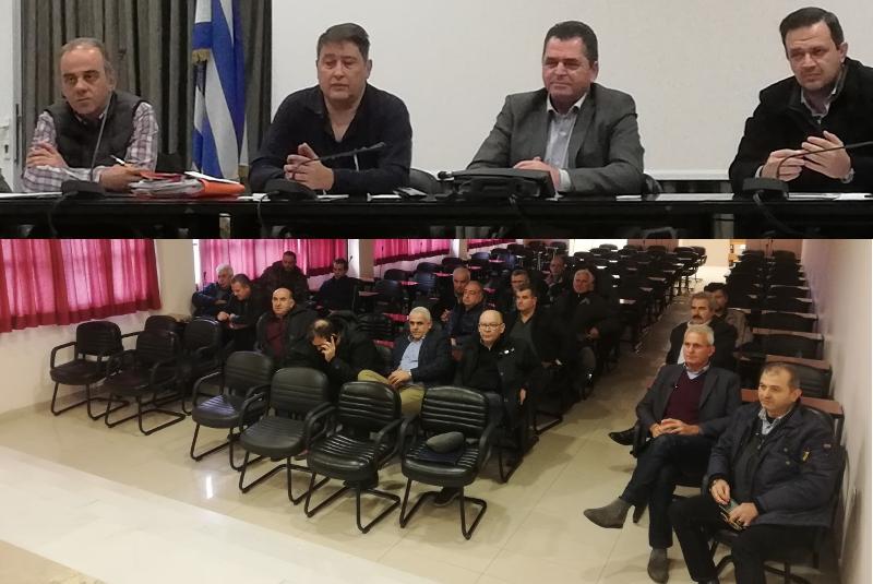 Συνάντηση εργασίας της Π.Ε. Ημαθίας με εκπροσώπους των ΤΟΕΒ