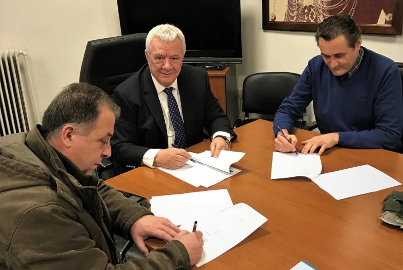 """Υπογράφηκε σύμβαση για την εκπόνηση μελέτης με τίτλο """"Σύνταξη Γενικού Σχεδίου Ύδρευσης Δήμου Αλεξάνδρειας"""""""