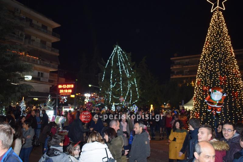 Χριστουγεννιάτικο δένδρο Αλεξάνδρεια 2019