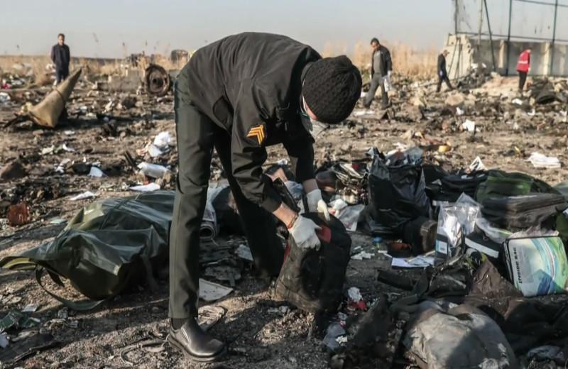 αεροπλάνο κατάρριψη Ιράν