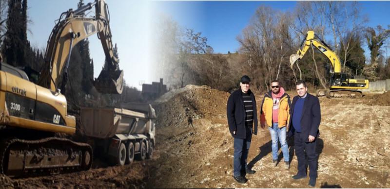 Έργα καθαρισμού ποταμών - ρεμάτων και στήριξης δρόμων σε όλη την Ημαθία