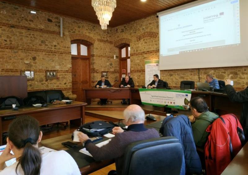 """Χαιρετισμός Καλαϊτζίδη στο διεθνές συνέδριο """"AgroLabs - Καινοτόμες Αγροδιατροφικές Συστάδες Συνεργασίας"""""""
