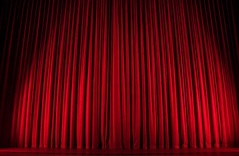 Θέατρο σκηνή αυλαία