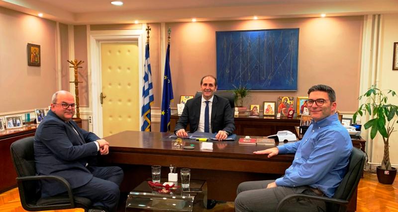 """Βεσυρόπουλος για φυσικό αέριο: """"Έρχεται σε Βέροια και Αλεξάνδρεια. Τα έργα αρχίζουν μέχρι το τέλος του 2020"""""""