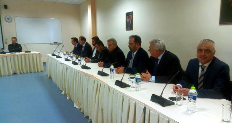 Ενίσχυση των αστυνομικών υπηρεσιών ζήτησε ο Π. Γκυρίνης από τον υπουργό Προστασίας του Πολίτη