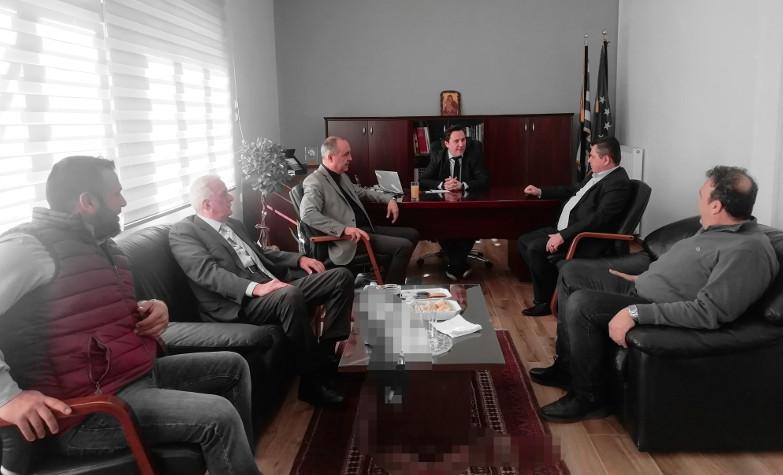 Στη Νάουσα ο υφυπουργός Θ. Καράογλου - συναντήθηκε με το δήμαρχο Ν. Καρανικόλα
