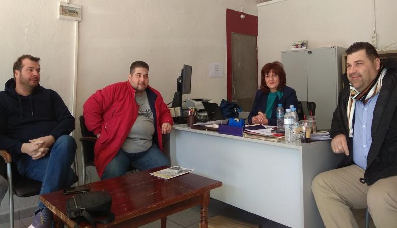 Συνάντηση της Φρόσως Καρασαρλίδου με τευτλοπαραγωγούς και εργαζόμενους, για τις δυσοίωνες εξελίξεις στην ΕΒΖ