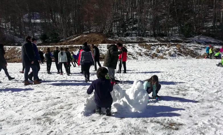 """Know the snow"", μια πρότυπη δράση  γνωριμίας Ατόμων με Αναπηρία με το χιόνι στη Νάουσα"