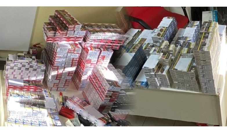 Ημαθία: σύλληψη 51χρονου στο όχημα του οποίου εντοπίστηκαν πάνω από 2.400 κλεμμένα πακέτα τσιγάρων