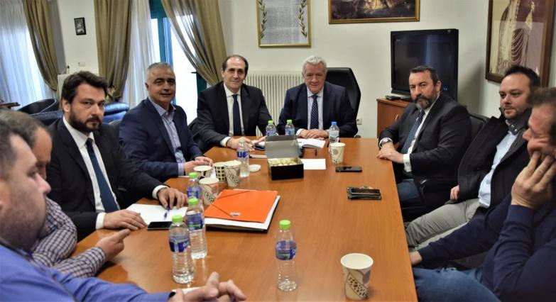 Σύσκεψη για το εργοστάσιο της ΕΒΖ στο Πλατύ πραγματοποιήθηκε στην Αλεξάνδρεια