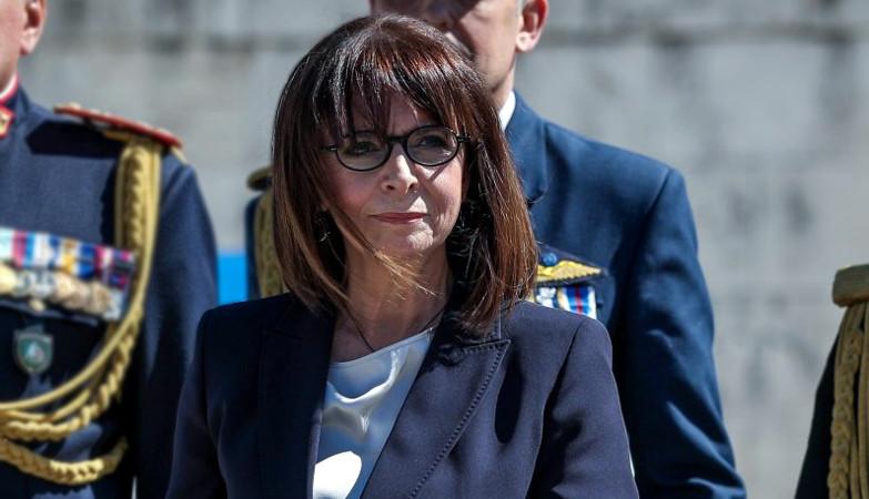Σακελλαροπούλου Κατερίνα Πρόεδρος Δημοκρατίας