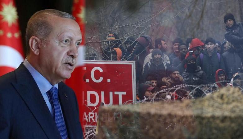 ερντογάν σύνορα