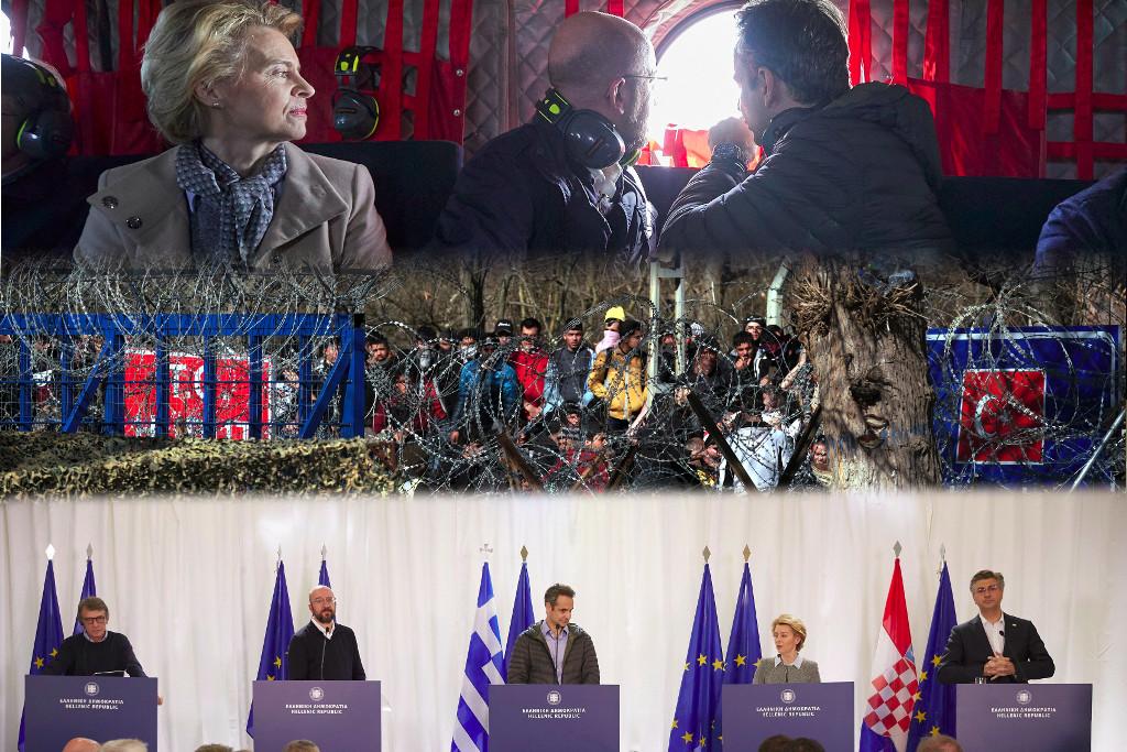 επίσκεψη ΕΕ Έβρος 3-3-2020