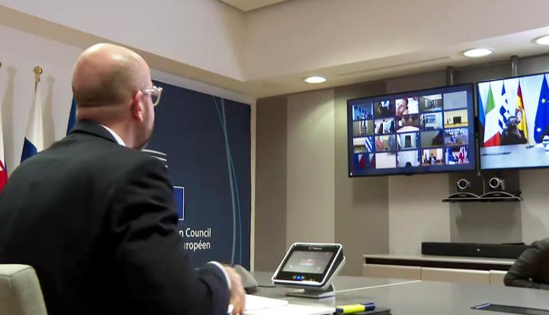 τηλεδιάσκεψη ΕΕ