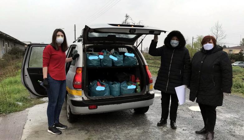 Δήμος Αλεξάνδρειας: διανομή τροφίμων από το Κοινωνικό Παντοπωλείο και το Βοήθεια στο Σπίτι