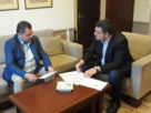 Στη Θεσσαλονίκη ο Καλαϊτζίδης για φυσικό αέριο, ΕΣΠΑ, νοσοκομείο και διοικητήριο