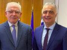 Επίσκεψη Λάζαρου Τσαβδαρίδη στον Πρόεδρο του ΕΛΓΑ