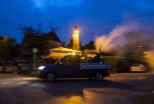 Ψεκασμός για τα κουνούπια στην Αλεξάνδρεια στις 7 Σεπτεμβρίου