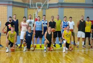 Aγιασμός και η πρώτη προπόνηση της ομάδας μπάσκετ του ΓΑΣ Μελίκη