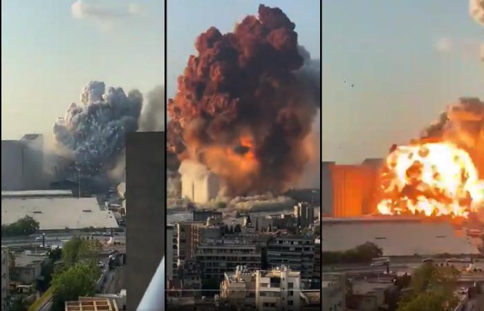 Βηρυτός έκρηξη 4 Αυγούστου 2020
