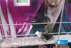 Σε πλήρη εξέλιξη οι δράσεις δημιουργίας εικαστικών έργων της Urban Art σε δημόσια κτίρια της Νάουσας