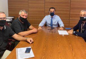 Μέσα στο Νοέμβριο δημοπρατούνται έργα στον ΤΟΕΒ Νησίου διαβεβαιώνει ο υφυπουργός ΑΑΤ