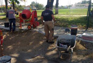 Δήμος Νάουσας: Σε εξέλιξη οι εργασίες συντήρησης και βελτίωσης υποδομών
