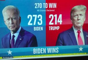 """Τα αμερικανικά ΜΜΕ """"δίνουν"""" νίκη του Μπάιντεν"""