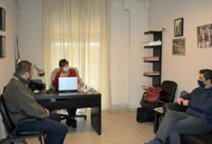 Συνάντηση με αντιπροσωπεία των αστυνομικών της Ημαθίας είχε η βουλευτής Φ. Καρασαρλίδου
