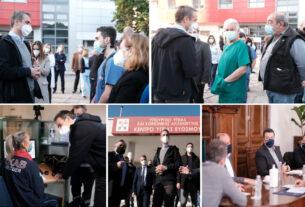 Στη Θεσσαλονίκη ο Κ. Μητσοτάκης – συμμετείχε και σε σύσκεψη με τον περιφερειάρχη και το δήμαρχο Θεσσαλονίκης