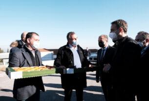 """Αγροτικός Σύλλογος Βέροιας: """"ζητήθηκε ένα νέο πλαίσιο για την γεωργία, περισσότερο άμεσο και δίκαιο"""""""