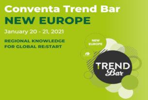 """Στην """"Conventa Trend Bar New Europe 2021"""" η Π.Κ.Μ."""