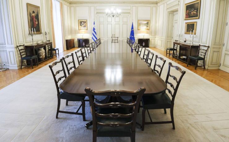 μαξίμου αίθουσα υπουργικού συμβουλίου