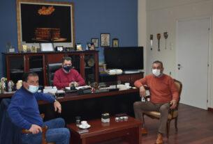 Συνάντηση με τον Κ. Καλαϊτζίδη είχε αντιπροσωπεία του Αγροτικού Συλλόγου Γεωργών Βέροιας