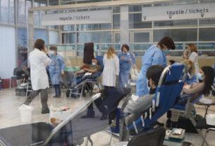 Μεγάλη προσέλευση στη δράση εθελοντικής αιμοδοσίας της Περιφέρειας Κεντρικής Μακεδονίας