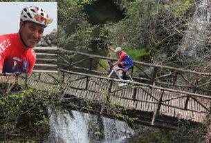 Νάουσα: έκανε 200 χλμ με το ποδήλατο για τα 200 χρόνια απ' την Επανάσταση