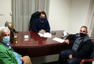 Με εκπροσώπους βιοτεχνών και παραγωγών λαϊκών αγορών συναντήθηκε ο Τ. Μπαρτζώκας