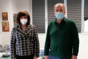 Με τον αντιπεριφερειάρχη Δημόσιας Υγείας συναντήθηκε η βουλευτής Φ. Καρασαρλίδου