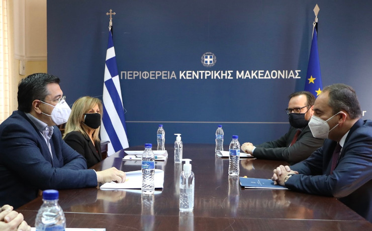 Συνάντηση Τζιτζικώστα με Πλακιωτάκη για το λιμάνι της Θεσσαλονίκης και υποδομές της Κ. Μακεδονίας