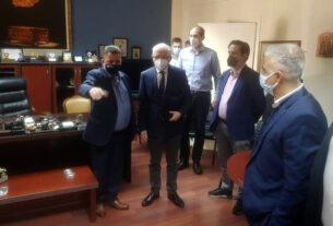 Την Ημαθία επισκέφθηκε ο πρόεδρος του ΕΛΓΑ